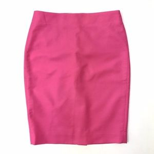 5d9a63d51 J. Crew Skirts   J Crew Neon Pink No 2 Pencil Knee Length Skirt ...